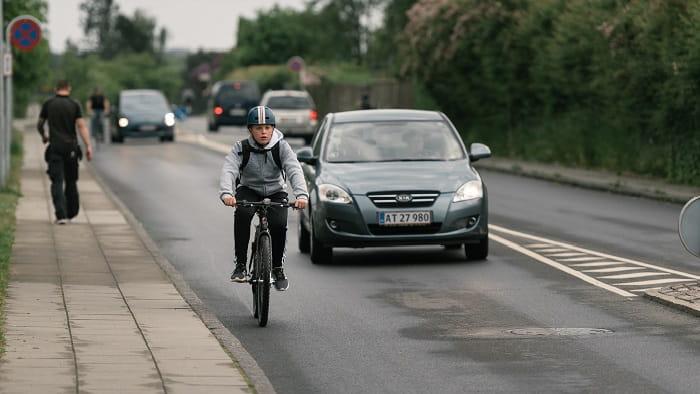 Færre cyklistulykker