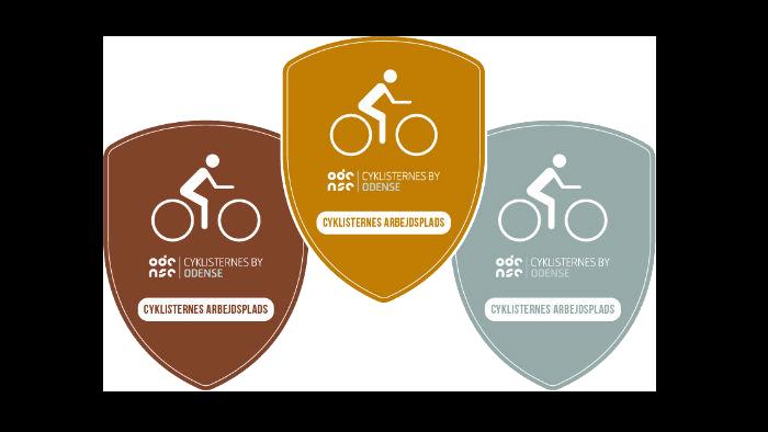 Oversigt over certificeringsniveauer: Guld, Sølv og Bronze.