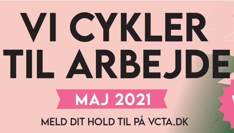 Deltag i Vi Cykler Til Arbejde i maj 2021